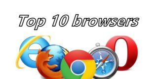 Top 10 browsers