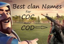 clan names for cod and coc