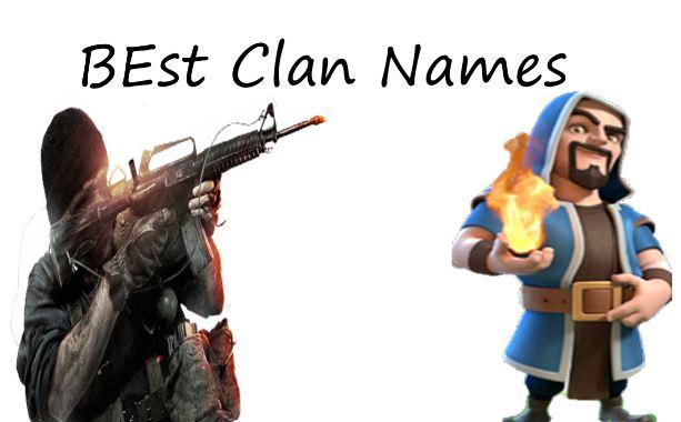 COC clan names