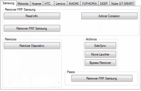 bypass frp with pc