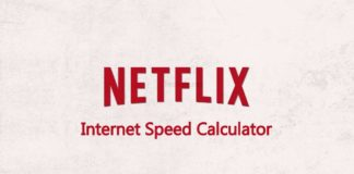Netflix internet speed checker
