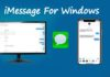 How to use imessage on windows