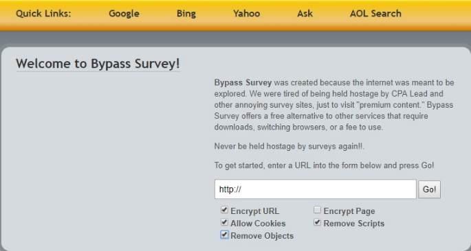 online survey remover