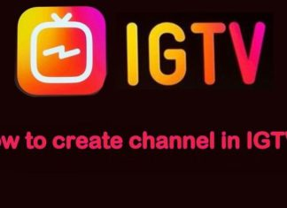 How to create IGTV channel