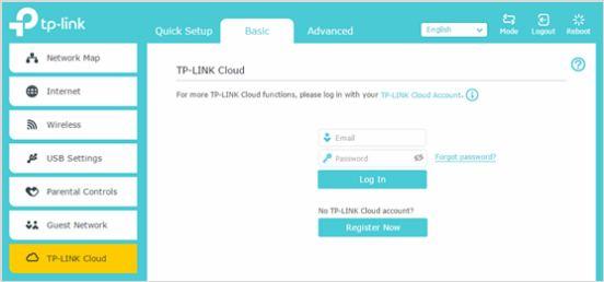 TP link login guide
