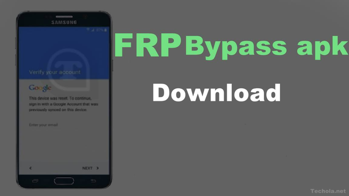 FRP bypass APK Download Latest version 2019 - Techola net