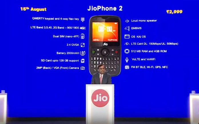 How to place order Jio 2