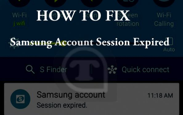 How to fix Samsung Account Session Expired