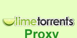 Limetorrents Proxy 2018 – Limetorrents Unblocked & Limetorrent Mirror Sites List