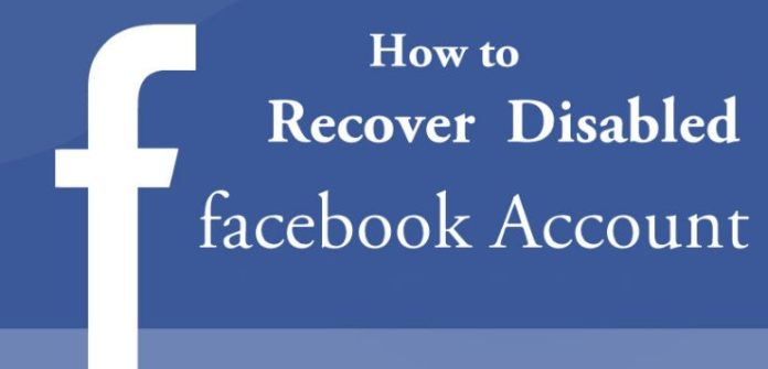 Recover disabled account
