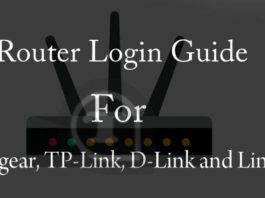 Router login guide for Netgear, TP-Link, D-Link and Linksys