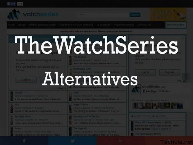 TheWatchSeries alternatives