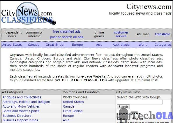 City news - Craigslist alternatives