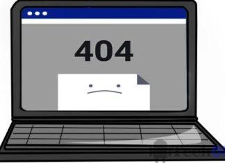 Fix 404 not found error in browser