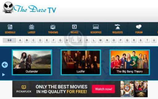 The dare TV - Couchtuner Alternatives