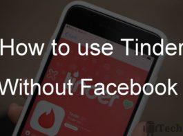 Tinder login without facebook