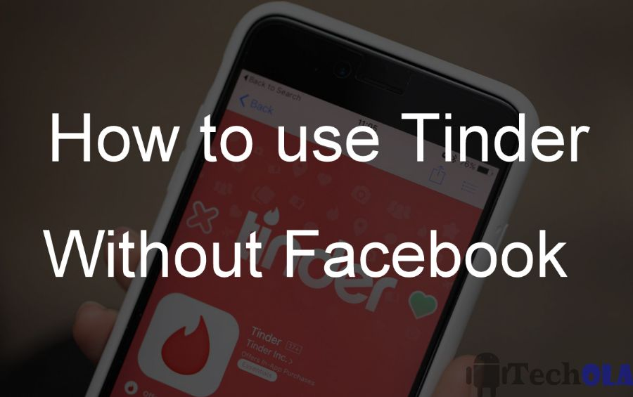 Tinder login without facebook