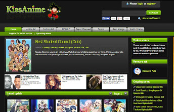 kissanime - Best anime streaming site
