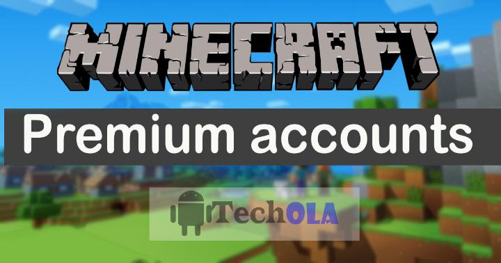 Free minecraft premium accounts