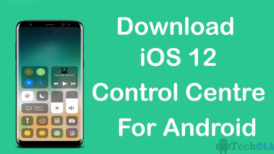 iOS control Center for Android