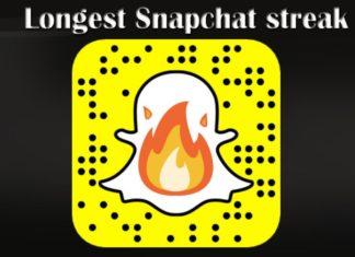 Longest snapchat streak