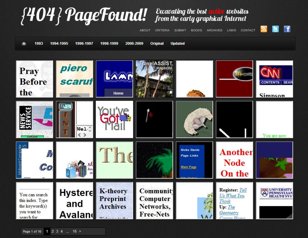 404pagefound - Wayback Machine Alternative
