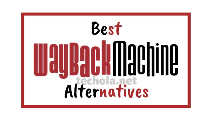 Wayback Machine Alternative