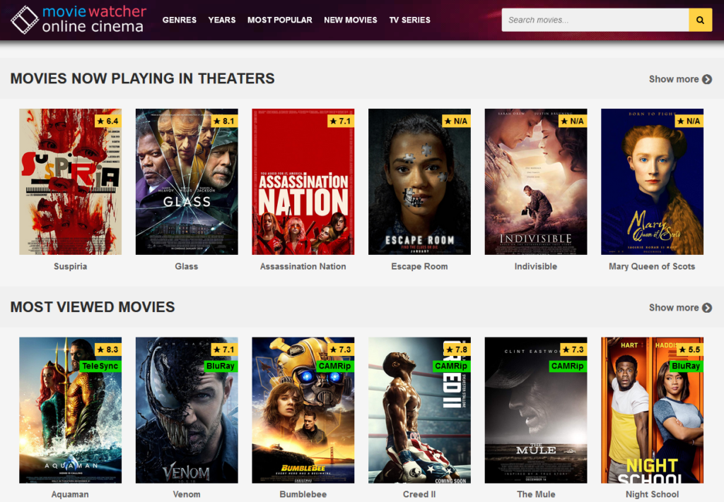 MovieWatcher.is - Watch HD Movies Online For Free