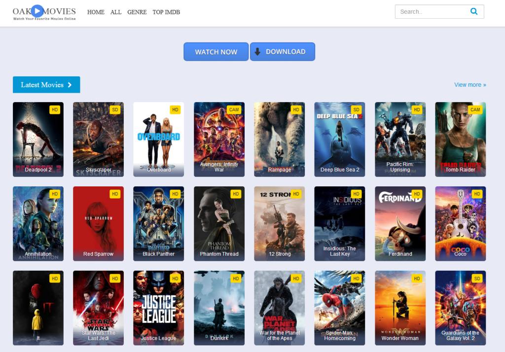 Movie Flixter - Watch Movies Online