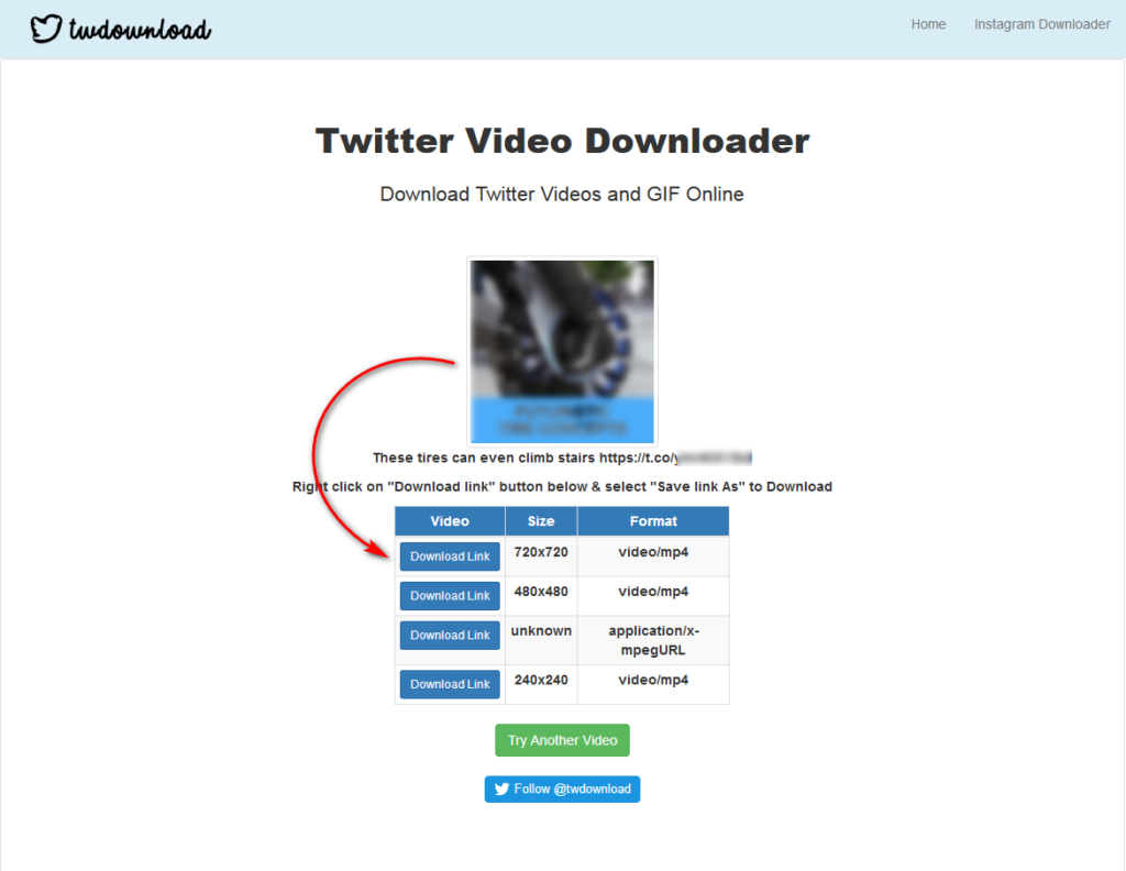 Download Gif and Videos From Twitter