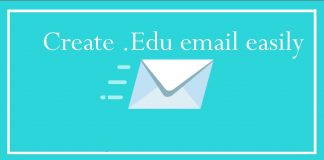 How to create edu mail