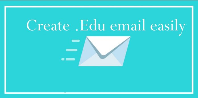 How to create edu mail